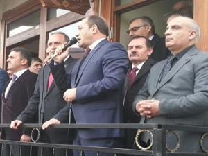 MHP'ye Uzundere'de coşkulu karşılama