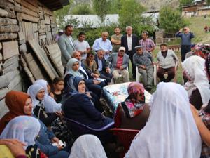 Milletvekili Taşkesenlioğlu Oltu'yu ziyaret etti