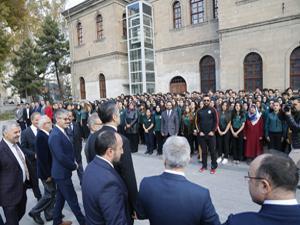 Milli Eğitim Bakanı Ziya Selçuk Kayseri'de