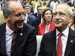 Muharrem İnce, Kemal Kılıçdaroğlu'ndan randevu istedi