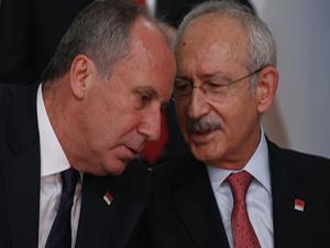 Muharrem İnce ve Kemal Kılıçdaroğlu'ndan karşılıklı jest