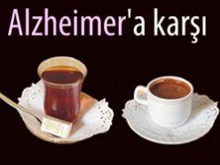 Alzheimer`a karşı çay ve kahve önerisi