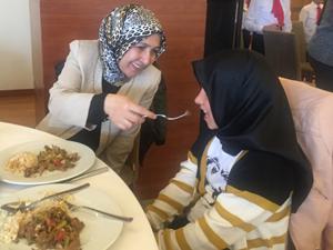 Nilgün Azizoğlu Anneler Gününde şehit anneleriyle buluştu