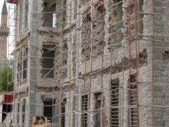 Tarihi binada şaşırtan restorasyon