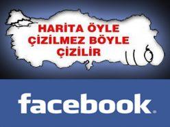 Türk halkından bölücülere haritalı cevap