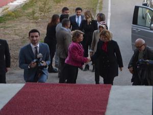 Rana Selçuk Erzurum'da eğitim müzesi açılışı yaptı