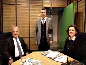Rektör Çomaklı, TRT Radyosunun konuğu oldu