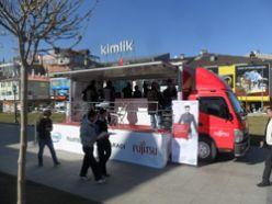 Teknoloji aracına Erzurum`da büyük ilgi