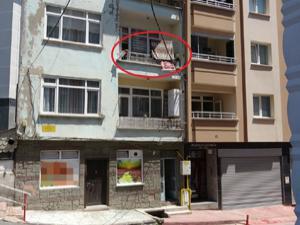 Samsun'da 2. kattan düşen çocuğu çamaşır ipi kurtardı