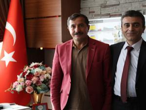 Şehit Tatar'ın babasından Bedir'e hayırlı olsun ziyareti