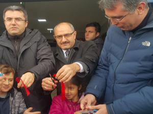 Şenkaya'da, DAP Semt Kütüphanesi açıldı