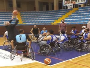 Tekerlekli Sandalye Basketbol Takımının Lig heyecanı