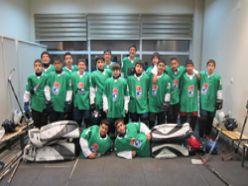 Minik buz hokeyciler Milli takım kampında