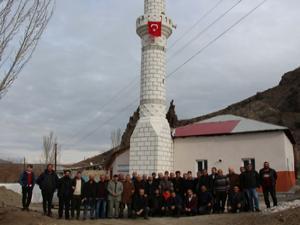 Topkaynak Köyü Camisi yeniden hizmete açıldı