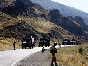 Tunceli'de teröristlerle sıcak temas!