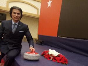Türkiye Curling Federasyonu Genel Kurulunda Şebin farkı