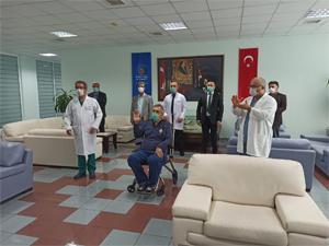 Türkiye'de plazma tedavisi ilk ona uygulandı!