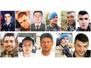 Türkiye evlatlarına ağlıyor... Afrin'de 12 asker şehit
