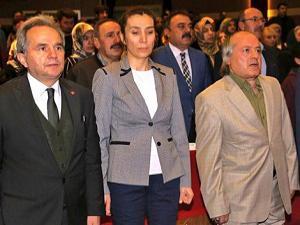 """TYB Erzurum Şubesi'nin """"100.Yıl Şiir Dinletisi""""nde Afrin vurgusu"""