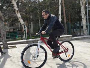 Vali Memiş: Erzurum'a bisiklet parkuru yapılacak