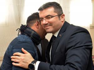 Vali Memiş, İdlib 'Kaplan'ını ziyaret etti
