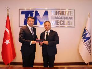 Vali Memiş, TİM Başkanı Gülle'ye tekstilkenti anlattı