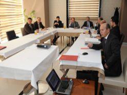 Erzurum'a hizmetler değerlendirildi