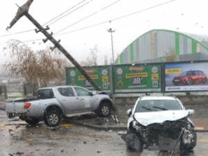 Yıldızkent'te feci kaza: 2 yaralı