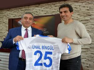 Zafer Demir'den Başsavcı Bingül'e B.B. Erzurumspor forması