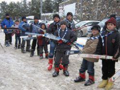 İzcilerin kış kampı tamamlandı
