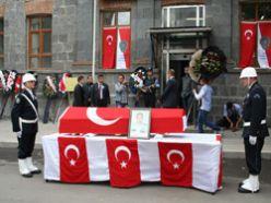 Şehidin otopsisi Erzurum'da yapıldı