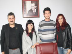 TGB Erzurumajans'ı ziyaret etti