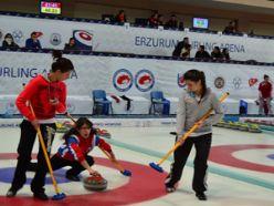 Curling Ligi'nde ikinci hafta heyecanı yaşandı