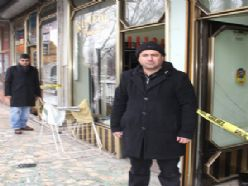 Erzurum'da tespihçi ve saatçi dükkanı soyuldu