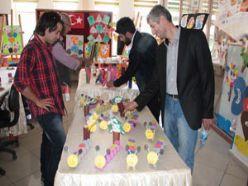 Erzurum'da Aliravi anasınıfı sergisi açıldı