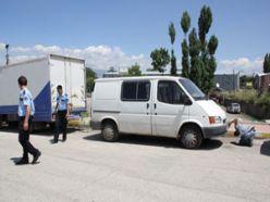 Erzurum galericiler sitesinde silahlı kavga