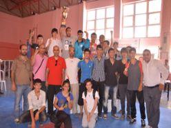 Taekwondo da şampiyonluk kupası Erzurum'un