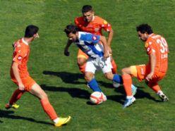 Erzurum Belediyespor Adanaspor'a elendi