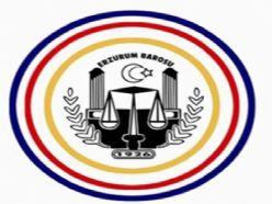 Erzurum Barosu'ndan açılış teşekkürü