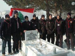 Lübnanlı izciler Cemal Paşa'yı andı