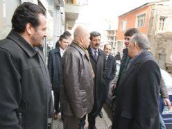 Korkut, Bosna Caddesi esnafını gezdi