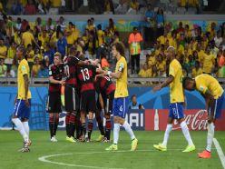 Almanya, Brezilya'yı ezdi, geçti: 1-7