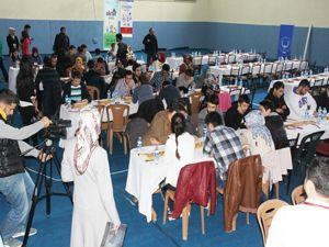 Atatürk Üniversitesi öğrencileri mangala'da yarıştı