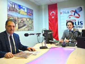 Kürkçüoğlu Polis Radyosuna konuk oldu