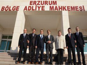Erzurum Barosu'ndan Başsavcı Bingül'e ziyaret
