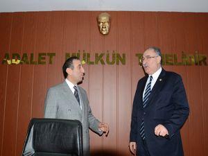 Milletvekili Yılmaz'dan Başsavcı Bingül'e ziyaret