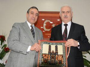 Rektör Koçak'tan Başsavcı Bingül'e ziyaret
