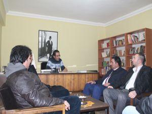 AK Parti aday adayı Yılmaz, Erzurumajans'daydı