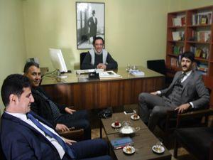 AK Parti Milletvekili aday adayı Keleş'ten Erzurumajans'a ziyaret