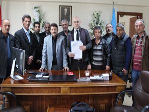 Erzurum otogar taksicileri hukuka başvuruyor